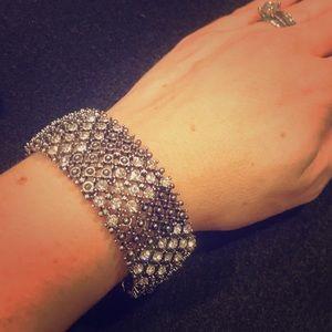 Fashion crystal stretch bracelet